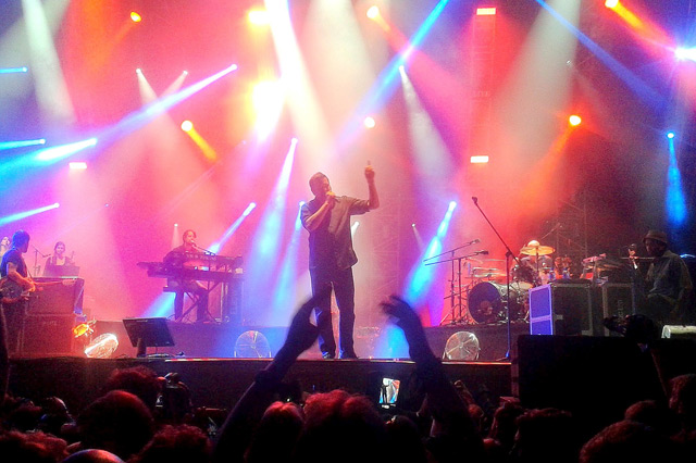 Elbow live in Latvia, 2014
